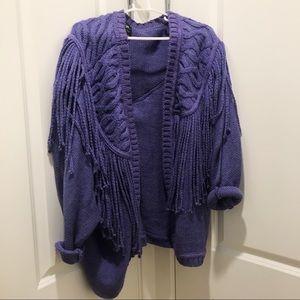 Vintage style Fringe Sweater 💜